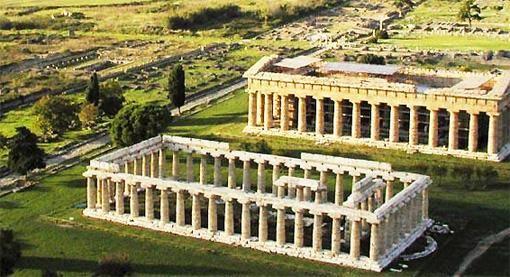 templi di paestum salerno