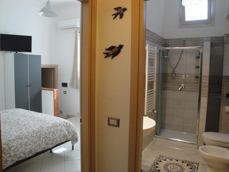vista generale monolocale indipendente girasole casa vacanze bed and breakfast battipaglia affittacamere