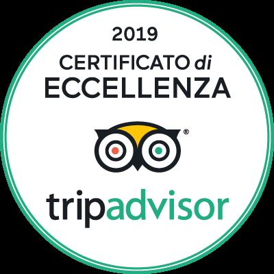 TripAdvisor Certificato Eccellenza 2019 B&B Battipaglia Affittacamere casa vacanze