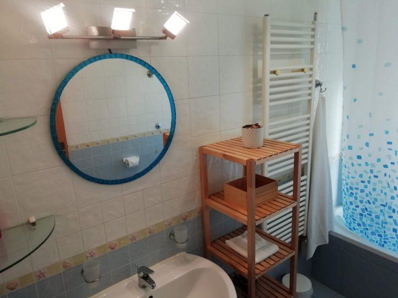 Bagno privato monolocale indipendente Fiordaliso bed and breakfast battipaglia affittacamere casa vacanze