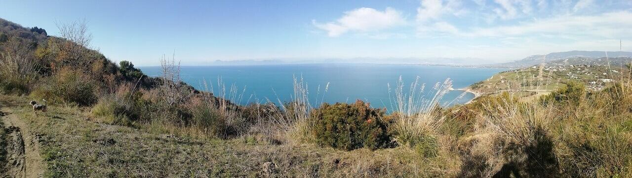 panorama vista sentiero naturalistico gita escursione punta tresino Trentova agropoli