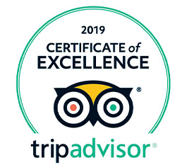 tripAdvisor certificate of excellence 2019 B&B Battipaglia Guest House